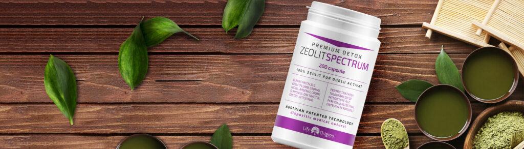 folosirea de Zeolit Spectrum in detoxifierea organismului