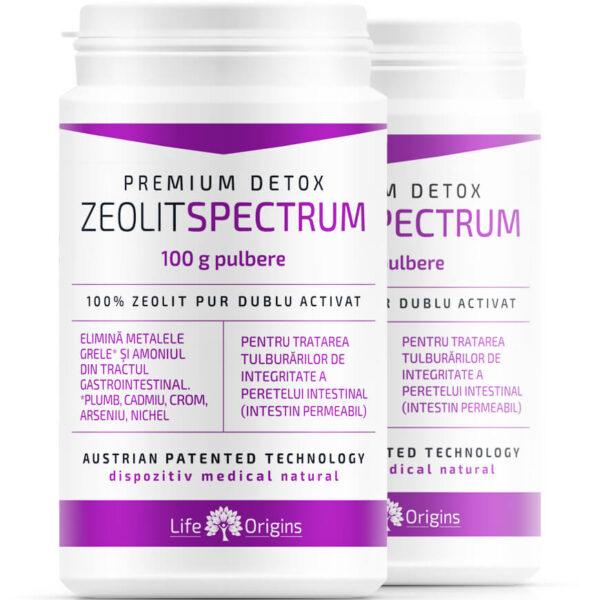 Zeolit Spectrum 100 g pulbere
