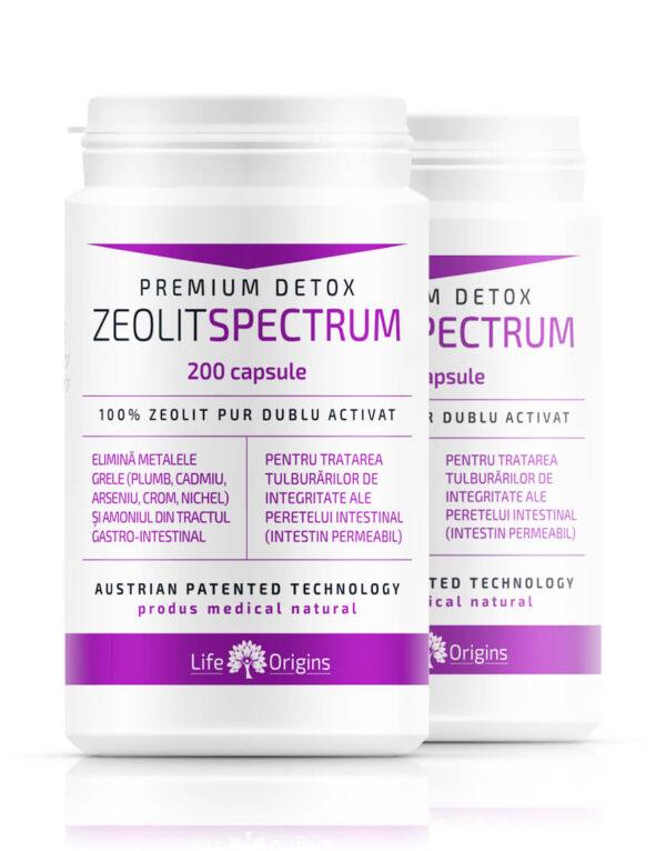 Pachet 2 x Zeolit Spectrum 200 cps