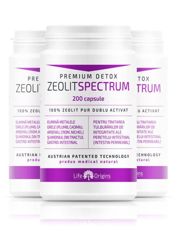 Pachet 3 x Zeolit Spectrum 200 cps