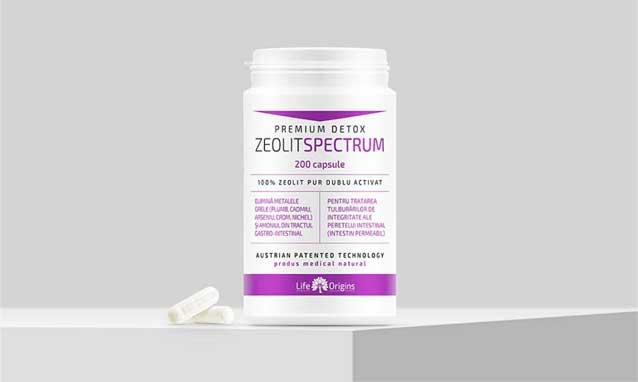 Zeolit Spectrum capsule